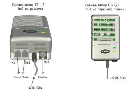 Сигнализаторы загазованности оксидом углерода